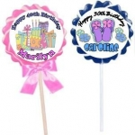 Jumbo Swirl Lollipops