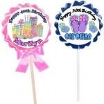 Jumbo Swirl Lollipops