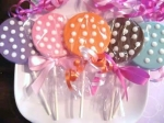 Bat Mitzvah Chocolate Favors