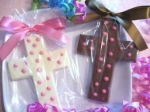 Communion Chocolate Lollipops