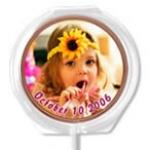 Birthday Chocolate Lollipops
