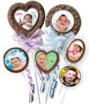 1st Birthday Chocolate Lollipops