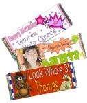 Birthday Candy Bar Favors