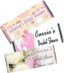 Bridal Shower Candy Bars