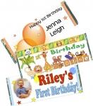 1st Birthday Candy Bars