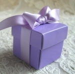 #EE01-LC -Lilac Favor Box
