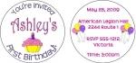 #FB00-L - Lollipop Invitations