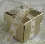#EE01HG - Gold Favor Box