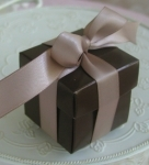 #EE01CB - Chocolate Favor Box