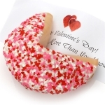 #LF-TFCS2  - Heart Sprinkle Giant Fortune Cookie