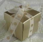 #EE01HGC - Gold Favor Box