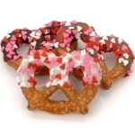 #LF-PTS2-IW  - Heart Sprinkles Chocolate Pretzel