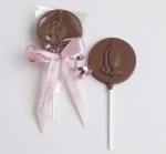 Praying Hands Chocolate Lollipops