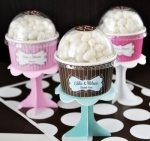 #EB2204 - Cupcake Favors