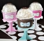 #EB2204 - Cupcake Favors
