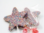 Non Pariel Chocolate Star Lollipop