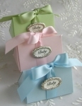 #EE010B - Baby Favor Box