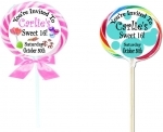 #00-Swirl Lollipop Invitations