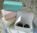 #EE012B - Truffle Favor Box
