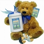 #LF-TNFC10-TB002  -Hanukkah Bear
