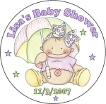 TBB28-CL - Shower Baby